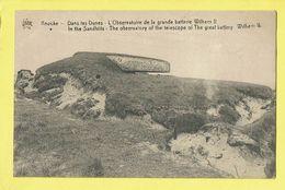 * Knokke - Knocke (Kust - Littoral) * (Star) Dans Les Dunes, Observatoire Grande Batterie Wilhem II, Telescope, Sandhill - Knokke