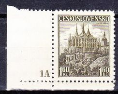 Tchécoslovaquie 1936 Mi 386 (Yv 312A),(MNH)** No De Planche 1A - Ungebraucht