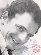 PHOTO ORIGINALE DEDICACEE BERNARD BLIER - Célébrités