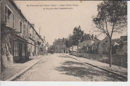 SAINT-FLORENT SUR CHER - RUE VICTOR HUGO - ET SQUARE DES COMBATTANTS - Saint-Florent-sur-Cher