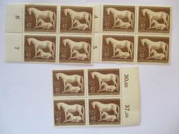 D.Reich Nr. 899 Pferde Das Braune Band, 12 X Postfrisch (11757) - Deutschland