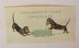 """""""Stollwerck"""" Gruppe 67, Nr.3  Album 2, Dackel, Öffnung Des Süßen Fundes♥ - Kaufmanns- Und Zigarettenbilder"""
