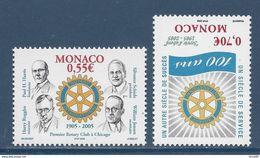 Monaco - YT N° 2479 Et 2480 - Neuf Sans Charnière - 2005 - Unused Stamps