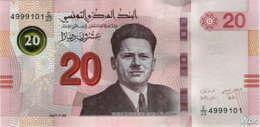 Tunisie 20 Dinars (P97) 2017 (Préf: E/23) -UNC- - Tunisia
