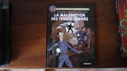 BLAKE ET MORTIMER T20 LA MALEDICTION DES TRENTE DENIERS T2  VAN HAMME AUBIN SCHREDER    JACOBS - Blake Et Mortimer