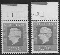 NVPH 951 - 1975 - Juliana Regina - Plaatnummer L1 En R1 - Periodo 1949 - 1980 (Giuliana)