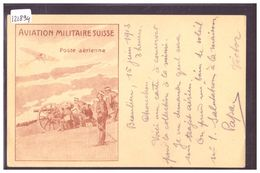 AVIATION MILITAIRE SUISSE - POSTE AERIENNE - VOL MORGES LAUSANNE 1913 - TB - Suisse
