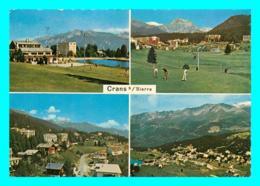 A747 / 261 Suisse CRAN SUR SIERRE Multivues Golf - VS Valais
