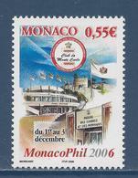 Monaco - YT N° 2521 - Neuf Sans Charnière - 2005 - Unused Stamps