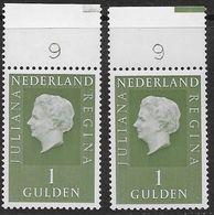NVPH 952 - 1969 - Juliana Regina - Plaatnummer 9A En 9B - Nuovi