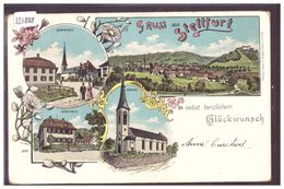 GRUSS AUS STETTFURT - LITHO - TB - TG Thurgovia
