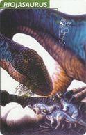 Serie Dinosaurs Of Argentina - Riojasaurus_1997_tirage100000pcs - Argentina