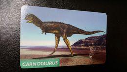Serie Dinosaurs Of Argentina - Carnotaurus_1998_tirage100000pcs - Argentina