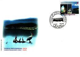 Republic Of North Macedonia / 2020 / FDC / Tourism In North Macedonia Prespa - Macedonië