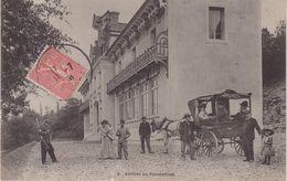 ISCHES : Arrivée Au Sanatorium . - Autres Communes