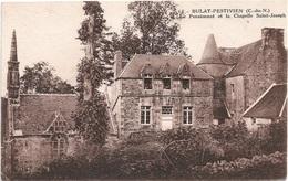 22 - BULAT-PESTIVIEN Pensionnat Et La Chapelle - France