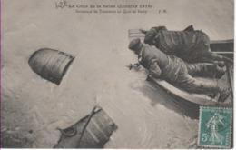 PARIS 12è-Inondations De 1910-Sauvetage De Tonneaux Au Quai De Bercy - JH - District 12