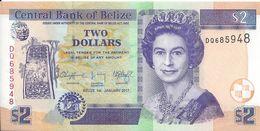 BELIZE - 2 Dollars 2019 - UNC - Belice