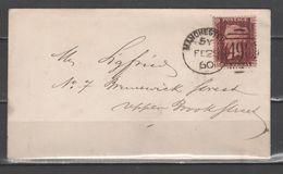 GB 1860 - 1 P. On Letter         (g6462) - Brieven En Documenten