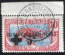 Colonie Française, Oubangui N°18 Oblitéré, Cachet Exceptionnel - Oubangui (1915-1936)