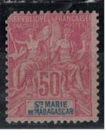 SAINTE MARIE DE MADAGASCAR       N°  YVERT   11 (2° Choix )     NEUF AVEC CHARNIERES      ( CHARN  03/ 39 ) - Nuovi