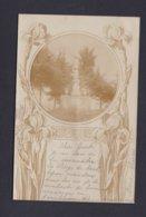 Carte Photo Montbozon (70) La Vierge Décor Art Nouveau ((Ref. 42042) - Other Municipalities