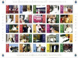 2003 POLONIA SET MNH ** 3770/3794 Giovanni Paolo II - 1944-.... Republic