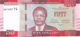 50 DOLLARS 2016 - Liberia