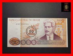 BRAZIL 50.000 50000 Cruzeiros 1986 P. 207  UNC - Brasil