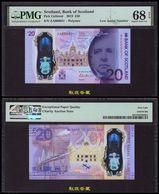 Bank Of Scotland £20 (2020), AA000031, Commemoraitve Charity Note, Polymer PMG68 - Schotland