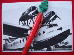 FOTOGRAFIA  AEREO  IDROVOLANTE  MACCHI  C 94 ALA LITTORIA  I-NEPI - Aviation