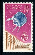 Somali Coast, French, 1965, ITU Centenary, International Telecommunication Union, Satellite, Space, MNH, Michel 365 - French Somali Coast (1894-1967)