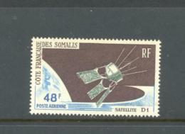 Somali Coast, French, 1966, Space, D1 Satellite, MNH, Michel 381 - French Somali Coast (1894-1967)