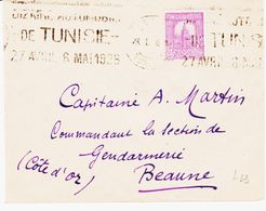 TUNISIE, En 1928, Dizaine Automobile De Tunisie  Krag  TB - Tunisie (1888-1955)