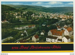 AK  Blick Auf Bad Brückenau In Der Rhön Mit Bahnhof 1974 - Non Classificati