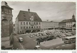 AK  Autos Bus VW Käfer Parkplatz Heilbronn Rathausplatz - Toerisme