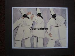GUIDI - CARNAVAL DE VENISE / TROIS DOCTEURS DE LA PESTE - Gouache - 1998 - Gouaches