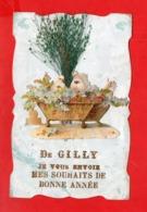 Gilly Lès Cîteaux : Carte De Vœux - France