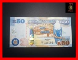 ZAMBIA 50 Kwacha 2012  P. 53 A  UNC - Zambie