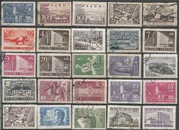 Finlande Lot De 25 Timbres Années 1930 - 1956 - Colecciones