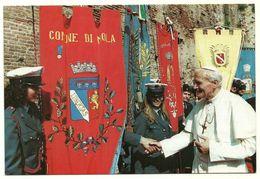 1986 - Italia - Cartolina Visita Papa Giovanni Paolo II    11/39 - Imola