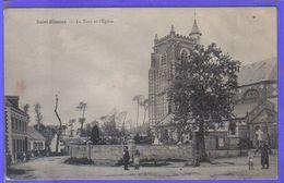 Carte Postale 80. Saint-Blimont La Tour Et L'église  Très Beau Plan - Frankreich