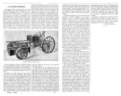 LA BALAYEUSE MUNICIPALE  De La VILLE De PARIS  1899 - Sciences & Technique