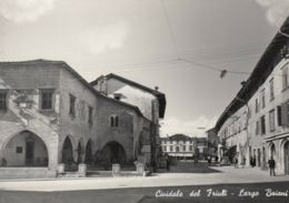 AK - CIVIDALE (Friaul) - Strassenpartie - Largo Boiani Mit Renaissance-Palast - Italy