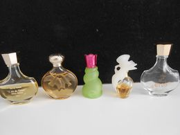 Lot De Miniatures Nina Ricci - Moderne Miniaturen (ab 1961)
