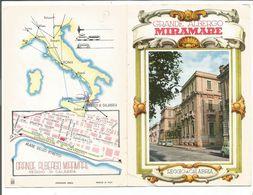 VP. 0730/ Dépliant Hotel Grande Albergo Miramar - Reggio Di Calabria - Italie - Tourism Brochures
