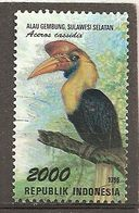 Indonesie Indonesia 1998 Oiseau Toucan Bird Obl - Indonesië