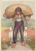 Bundesfeier 1931 - Sturmschäden Dallenwil - Signiert Liner      (P-249-00315) - Holidays & Celebrations