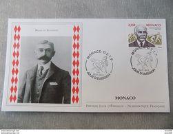 FDC MONACO 2013 : Baron Pierre De Coubertin (jeux Olympiques) - FDC