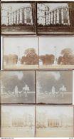 78 - SAINT GERMAIN EN LAYE - LOT DE  4 PHOTOS Sur CARTON - 12.5X6 - CHAPELLE DU CHATEAU - LE PARC - CROIX DE NOAILLES - St. Germain En Laye